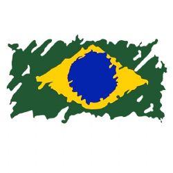 Adesivo - Bandeira Brasil