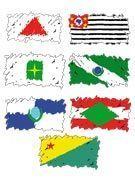 Adesivo - Bandeiras Estaduais