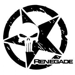Adesivo - Renegade Justiceiro