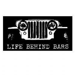 Adesivo - Life Behind Bars