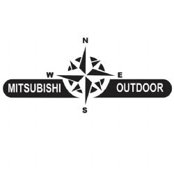 Adesivo - Mitsubishi Outdoor