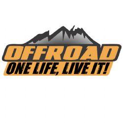Adesivo - One Life, Live it