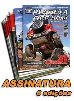 Assinatura Planeta Off-Road 6 edições