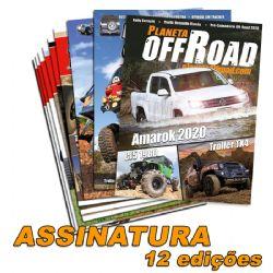 Assinatura Planeta Off-Road - 12 edições