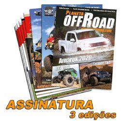 Assinatura Planeta Off-Road 3 edições