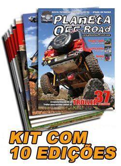 Pacote 10 revistas