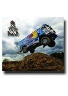 Placa - Dakar Caminhão