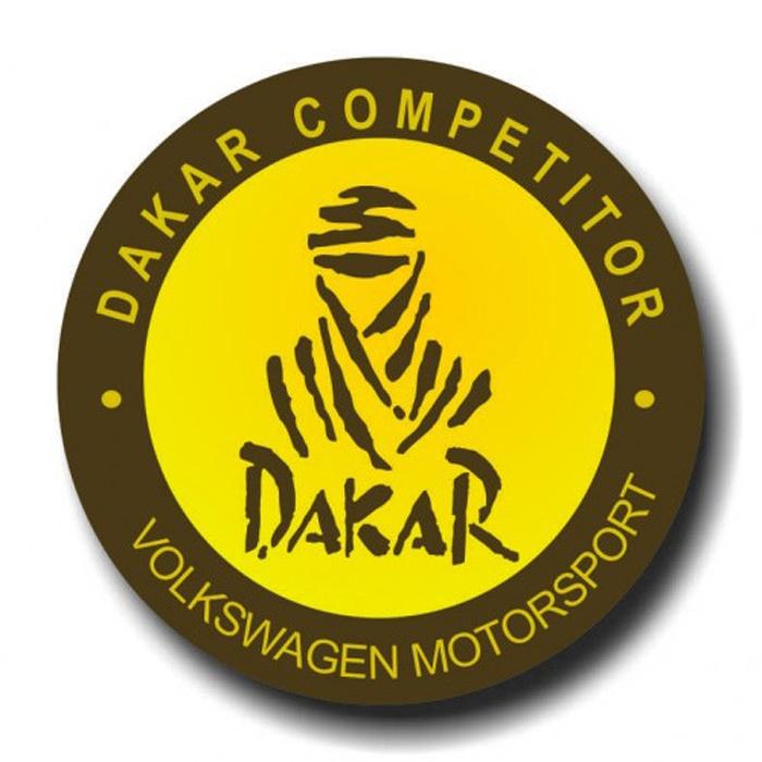 Placa - Dakar Competitor