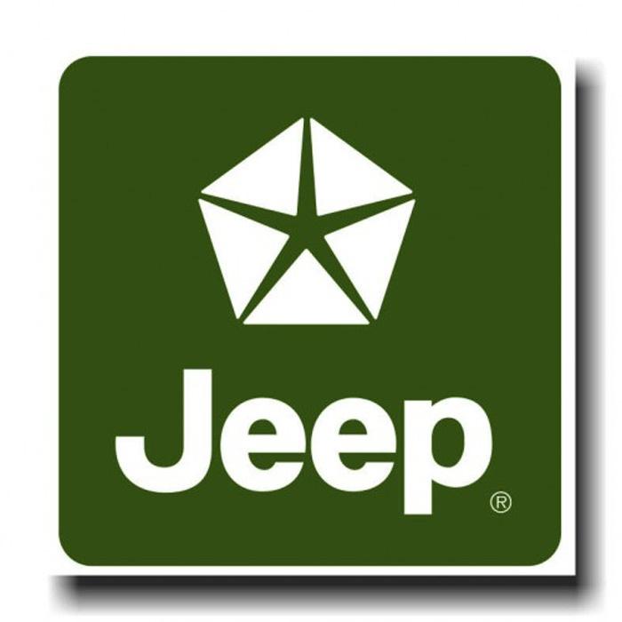Placa - Jeep