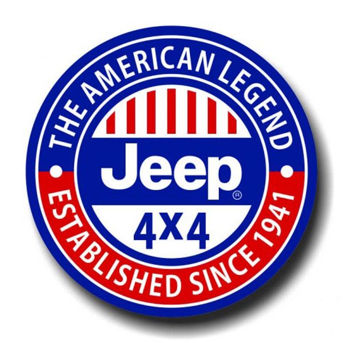 Placa - Jeep 4x4