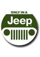 Placa - Only in a Jeep 1